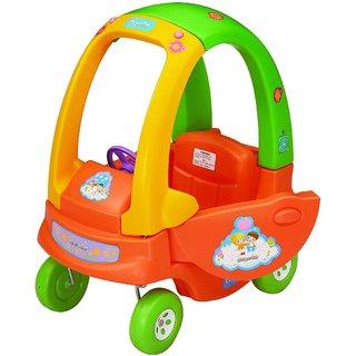 Coupe Car - Orange , Pink Kid's Toy