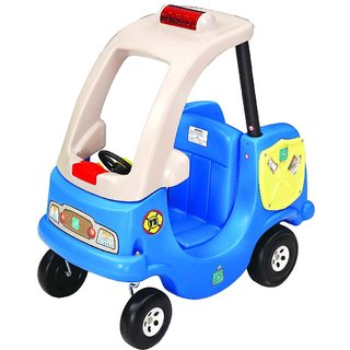 Patrol Car - Red , Blue Kid's Toy