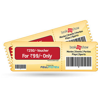 Bookmyshow Voucher - Pay Via Payumoney Wallet