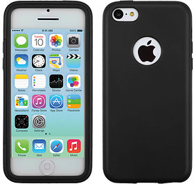 Mybat 3034 An Usa Brand Black Visible Book-Style Candy Skin Cover For Iphone 5C