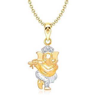 Buy vina murlidhar ganesh pendant gold and rhodium plated online vina murlidhar ganesh pendant gold and rhodium plated aloadofball Choice Image