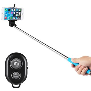 online selfie stick with bluetooth remote prices shopclues india. Black Bedroom Furniture Sets. Home Design Ideas