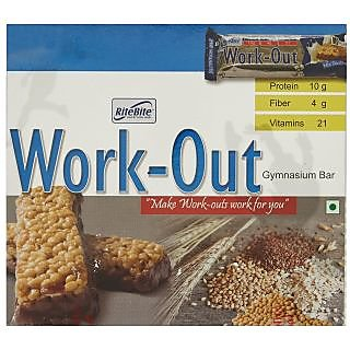 RiteBite Work Out Protein Bar (Pack of 6)