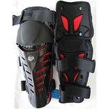 FOX RAPTOR- BIKE / MOTORCYCLE KNEE / SHIN GAURD (Black Red)