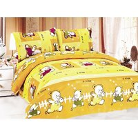 CARTOON PRINT DOUBLE BED SHEET WITH PILLOW COVERS D.NO. 1311