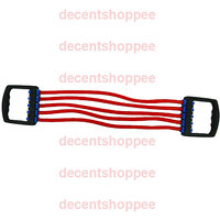 5 Tube Multi-function Pulling Rubber-Tube For Chest Develop And Other Exercises.
