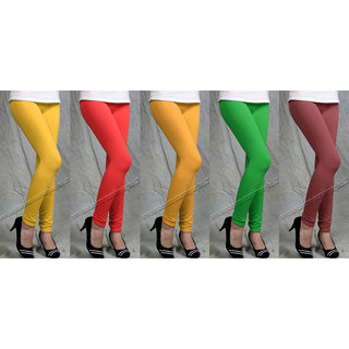 LEGGINGS 5 PIECE OF COMBO  PA3CK WITH GOOD QUALITY 4ND CHEAPEST LOWEST PRICE