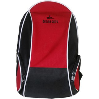 Dezine Cults Backpack Red And Black