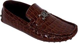 Elvace Brown Slip-on Loafer Men-6003