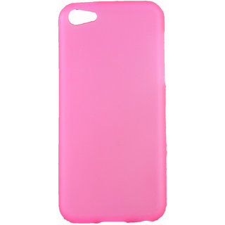 FCS Rubberised Silicon Back Case for Apple IPhone 5C in Matte Finish-Pink