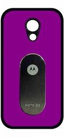 Envy Rubberizedized Case for Moto G2 (Purple)