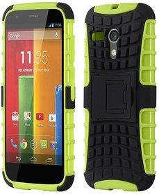 Envy Super Grip Case For Motorola Moto G (Green)