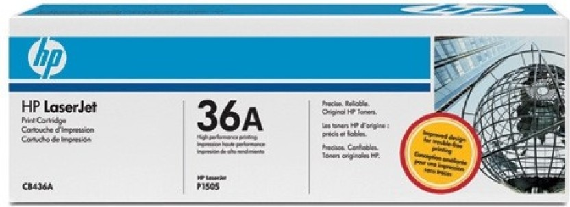 HP 36A Laserjet Pro Single Color Toner  Black