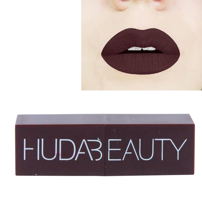 SPERO HUDA BEAUTY Liquid Matte Lipstick Long Lasting Water Proof Lip Colors 02B