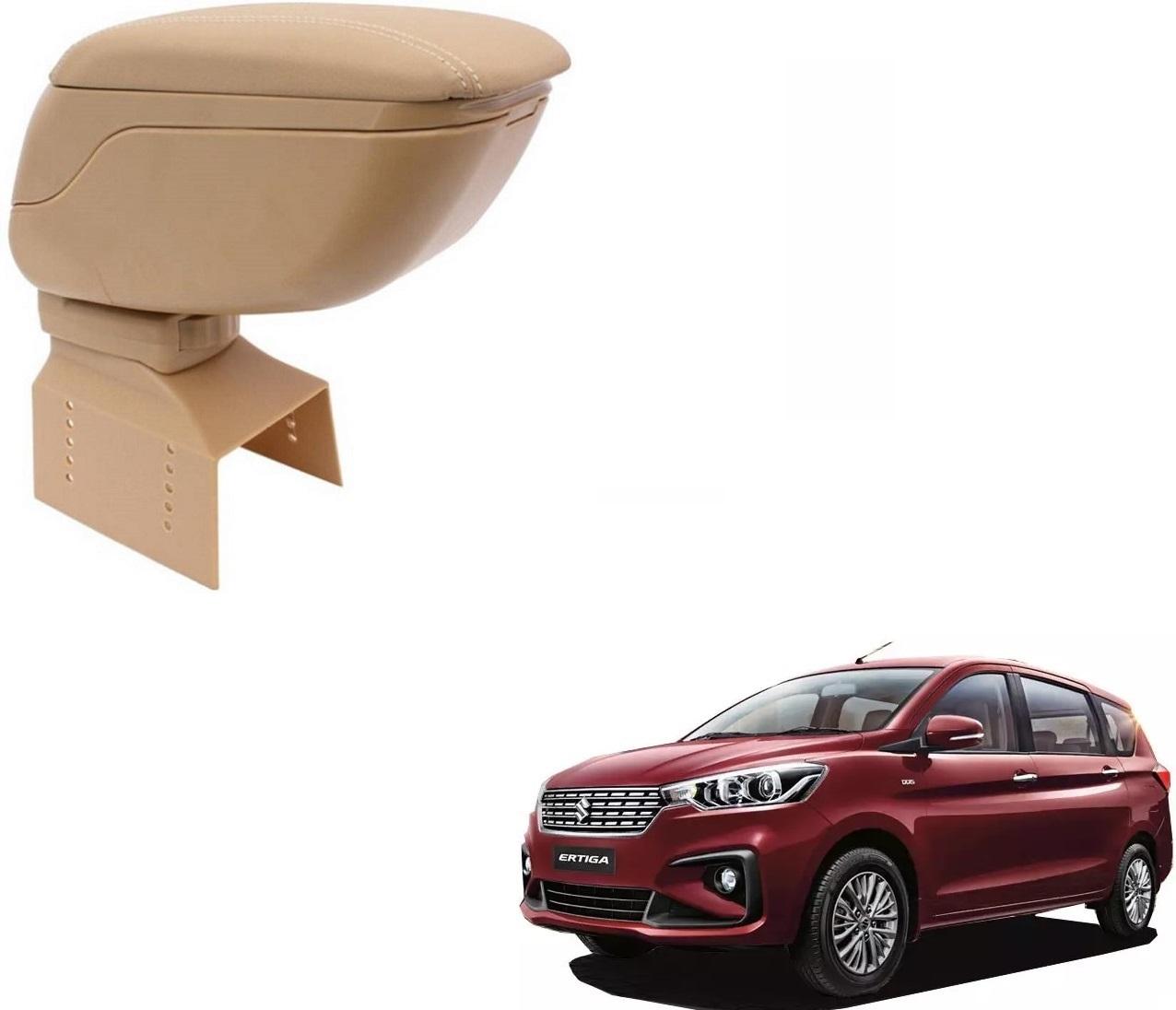 Auto Addict Car Armrest Console Beige Color For Maruti Suzuki New Ertiga  Nov 2018 Present