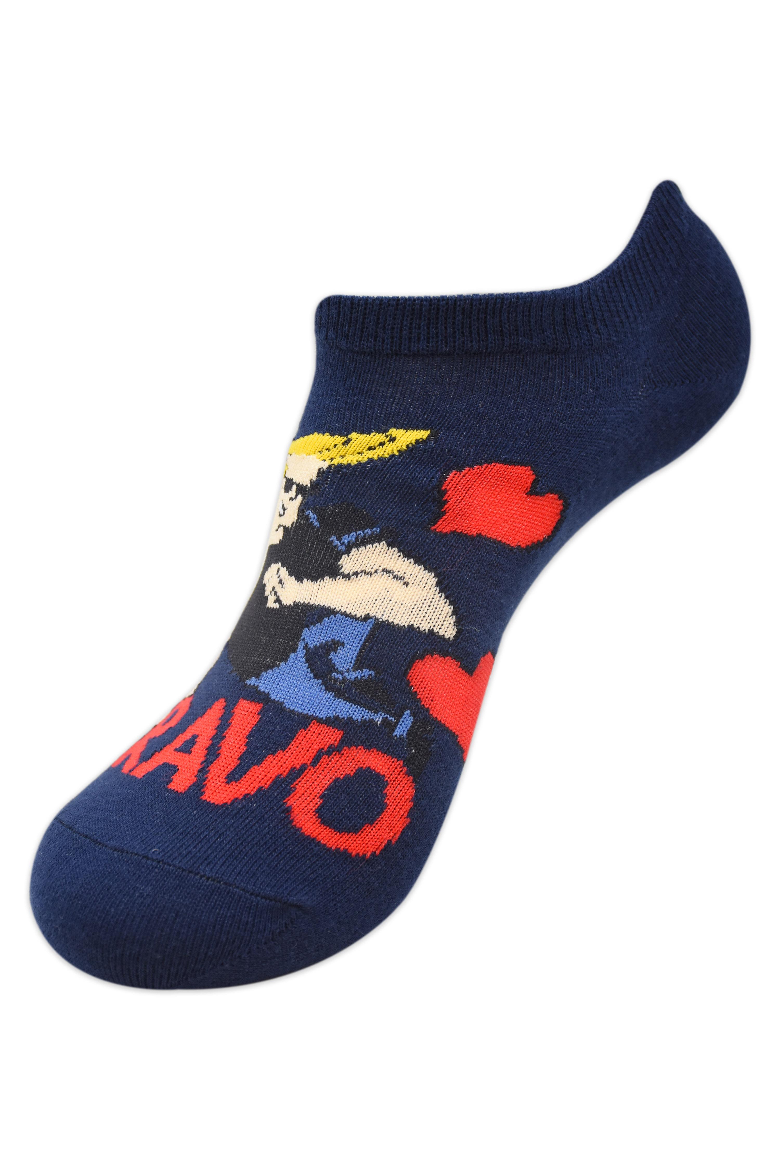Johnny Bravo Women The Bravo Low Cut Socks by Balenzia