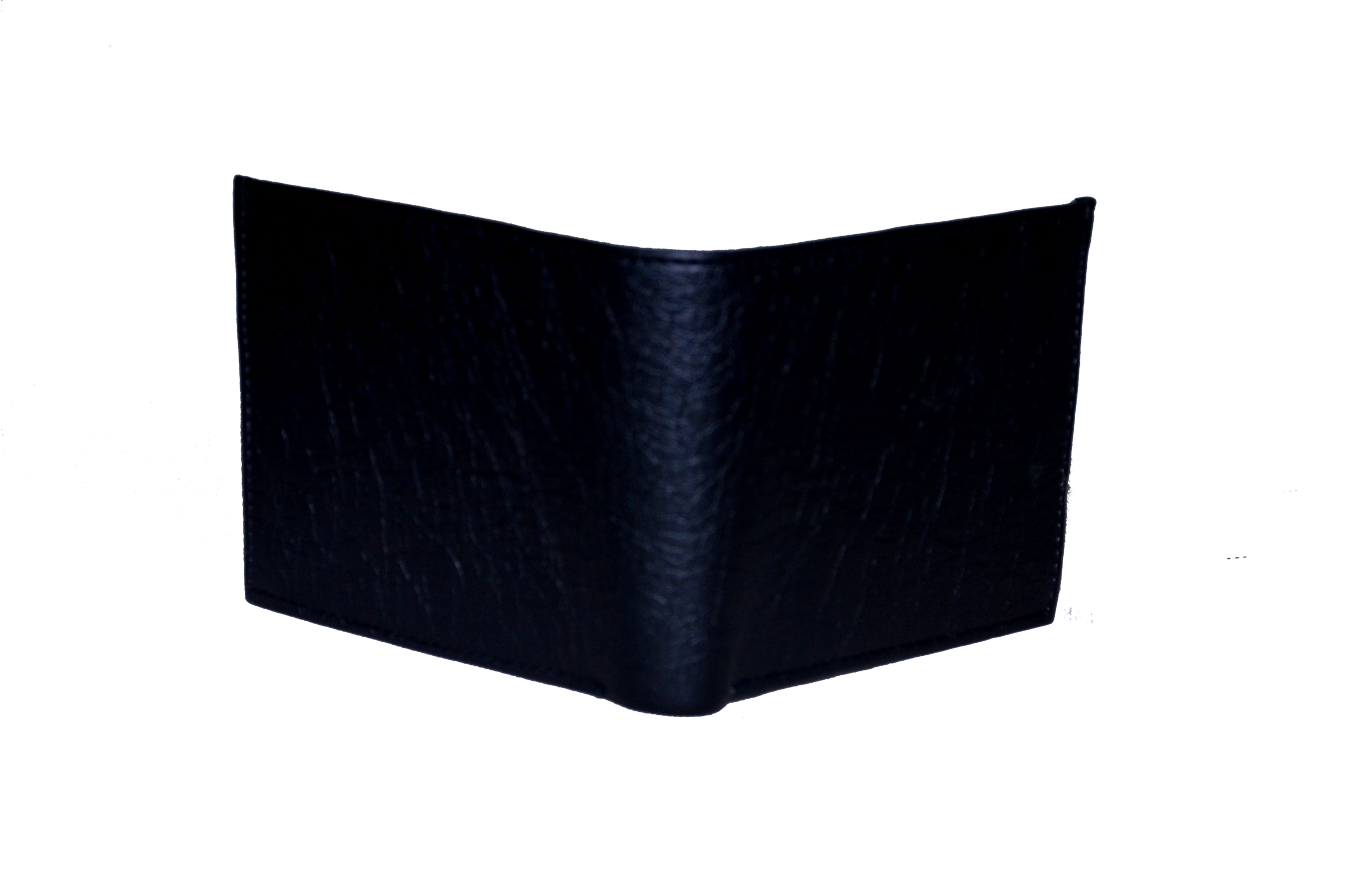 Men Casual Black Artificial Leather Wallet  Synthetic leather/Rexine