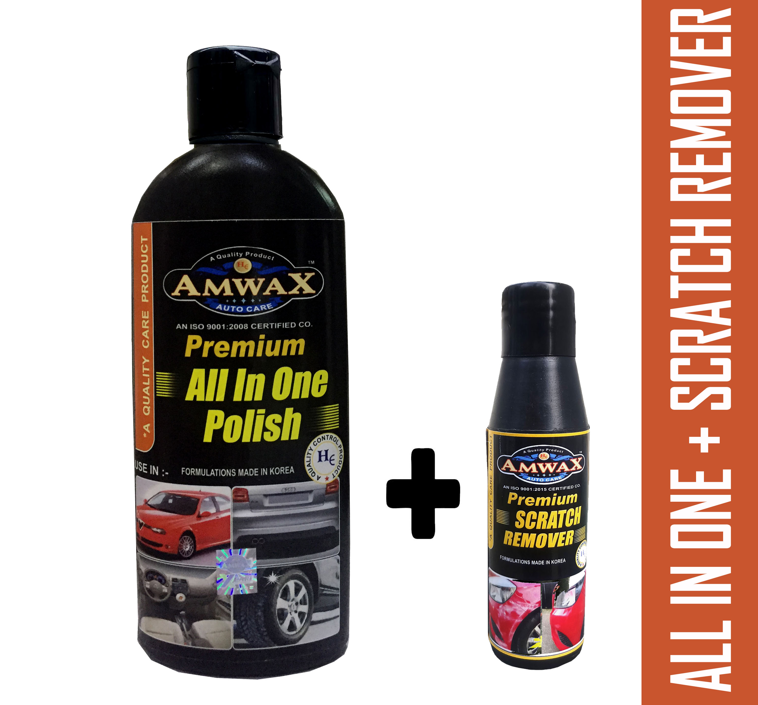 All In One Polish 500 ml + Scratch Remover 50 ml