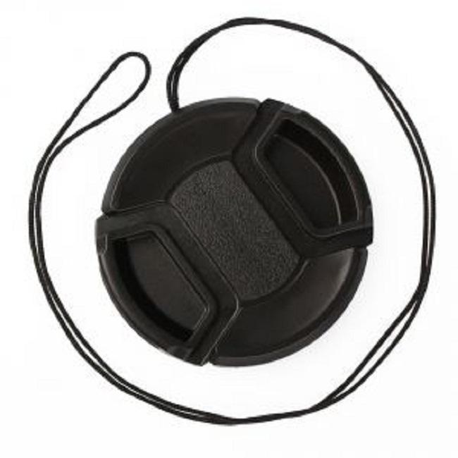 Cam Cart Lens Cap 82 mm Black Lens Cap for Nikon, Canon, Sony, Olympus