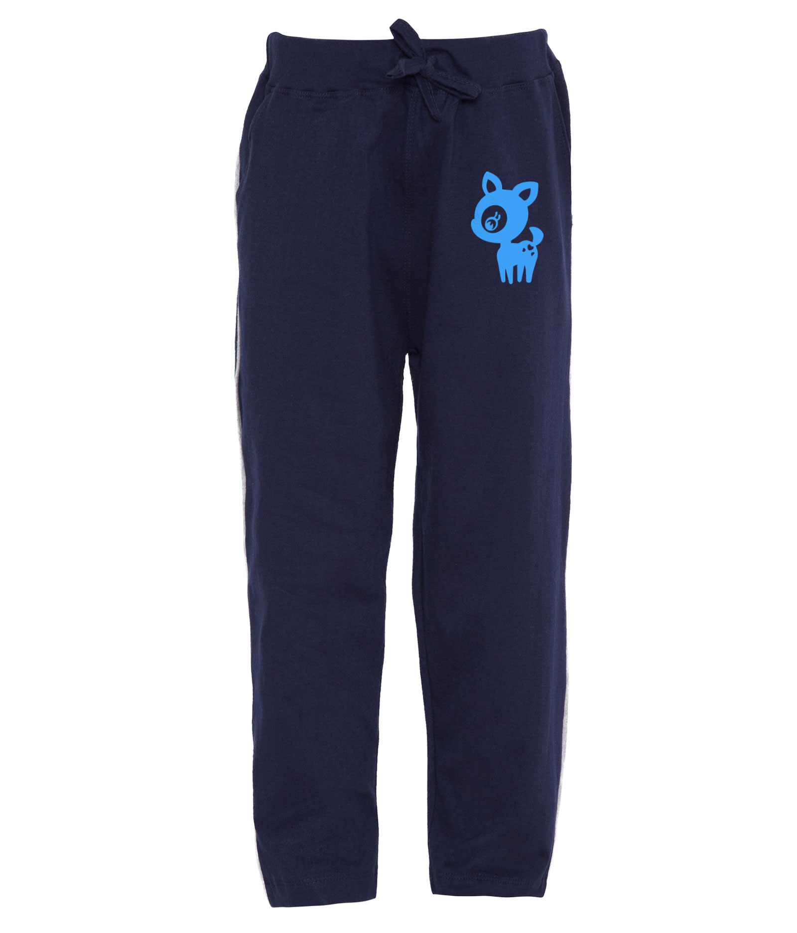 Haoser Kid's Soft and Thick Cotton Track Pant Sky Printed for Boys and Girls