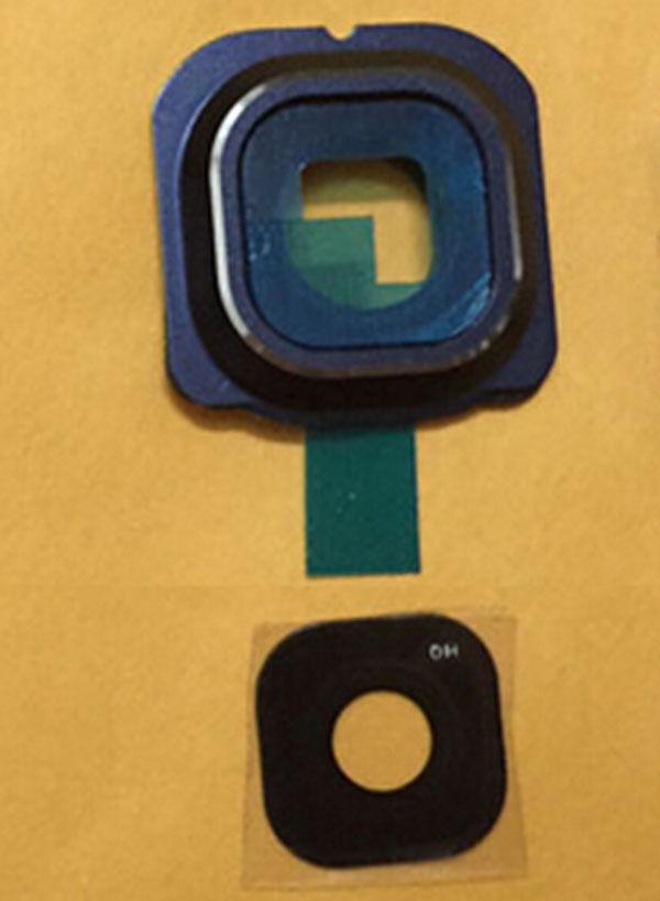 Camera Glass Lens Cover For Samsung Galaxy S6 Edge G925 G925i Blue Colour