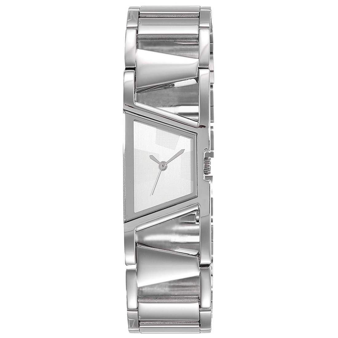 Varni Retail Super Stylish Designer Attrective Dial Silver Stainless Belt Analog Watch   For Girls And Woman