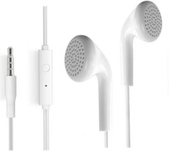 High Bass EarSmngLOW349512 In Ear Headphones Compatible for Samsung Galaxy J7  White