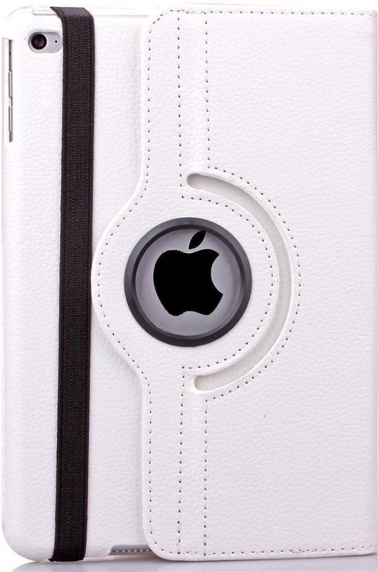 360 Flip Cover for ipad 2, ipad 3, ipad 4  White, Cases with Holder