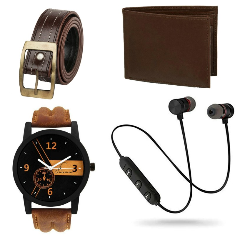 Jack Klein Multiple Combos With Synthetic Casual Strap Watch For Men