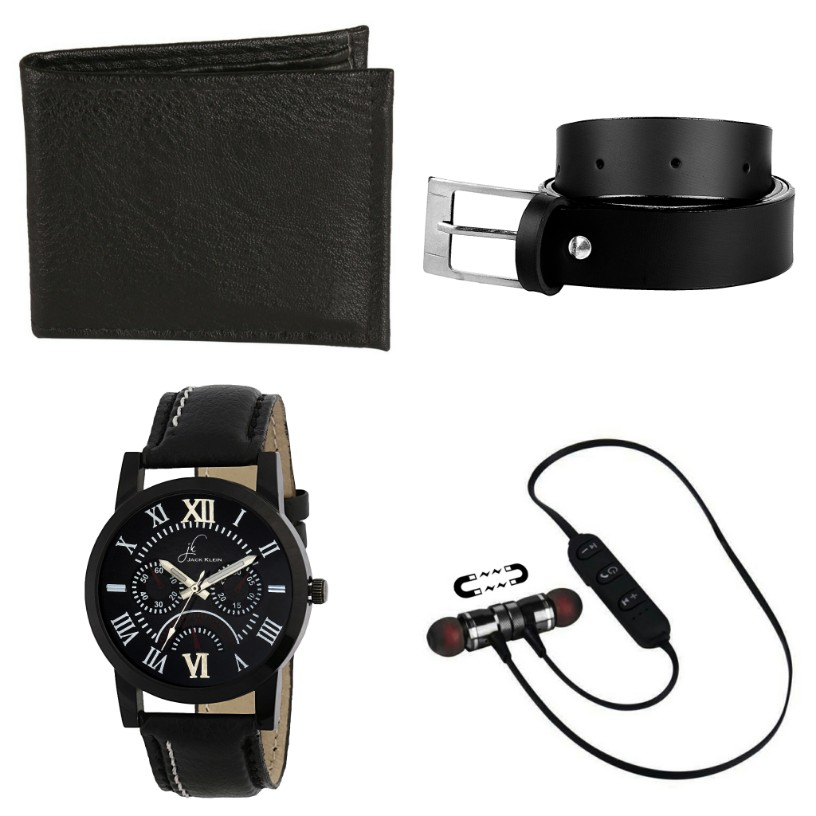 Jack Klein Multiple Combos With Synthetic Strap Casual Watch For Men