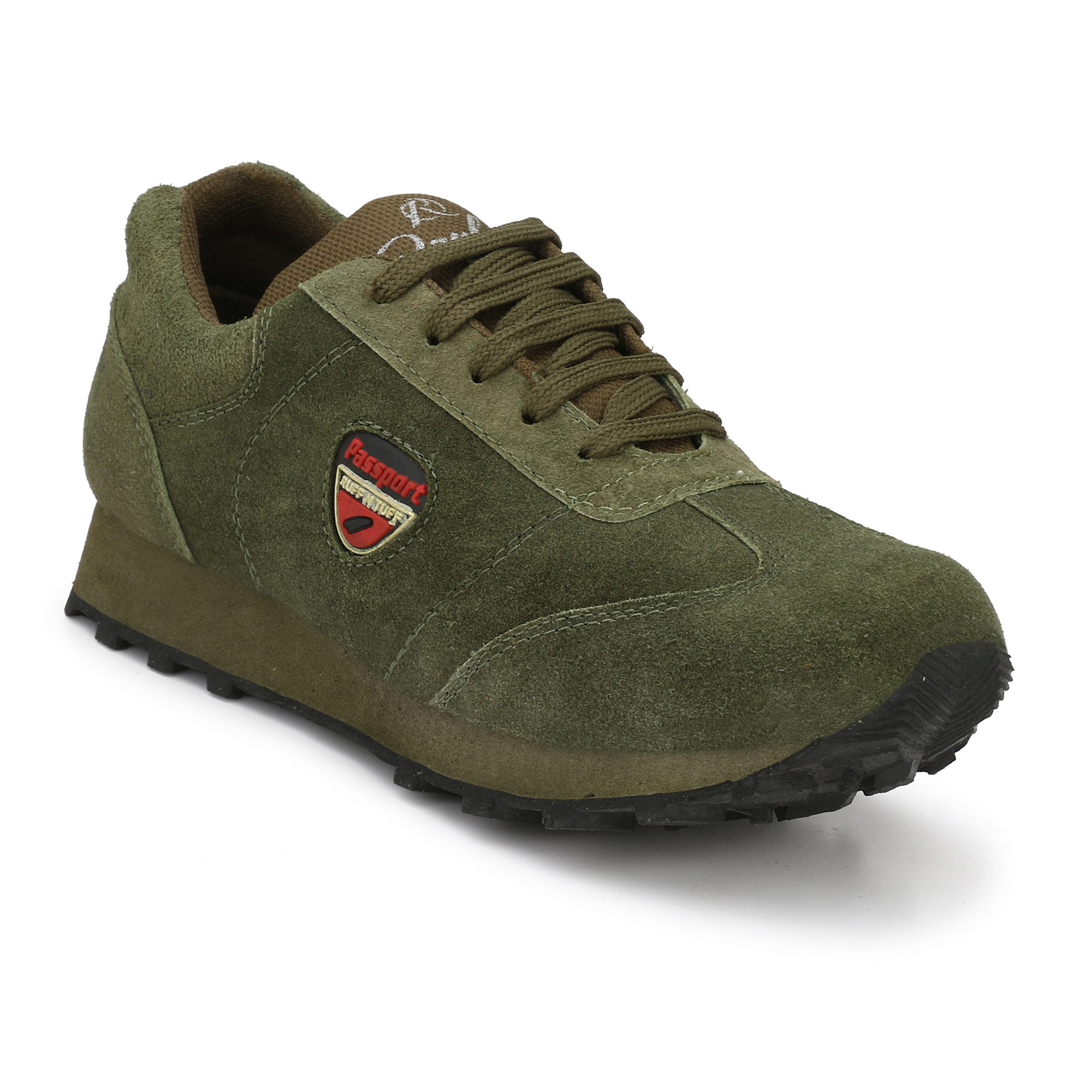 Atton Green Running Shoes For Men
