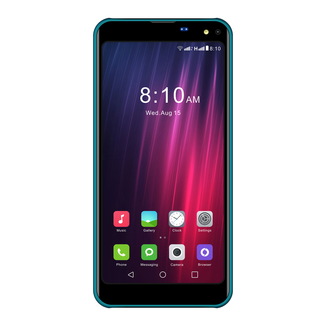 I KALL K8 New 5.5 Inch Display 2   GB RAM 16   GB ROM Phone  Green