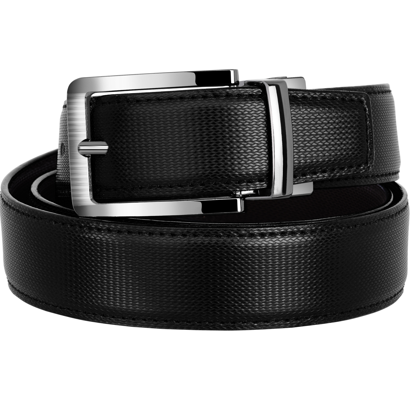Nitrogen Boys Casual, Formal, Evening, Party Black Artificial Reversible Belt N gb 03 Bk Br  Synthetic leather/Rexine