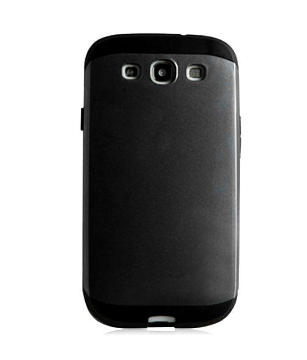 Gadgetworld Spigen Back Cover For Samsung Galaxy S3  Black