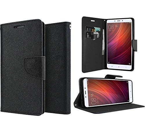 Gadgetworld Luxury Flip Cover Case For Samsung Galaxy Core Prime Sm  G360  Black
