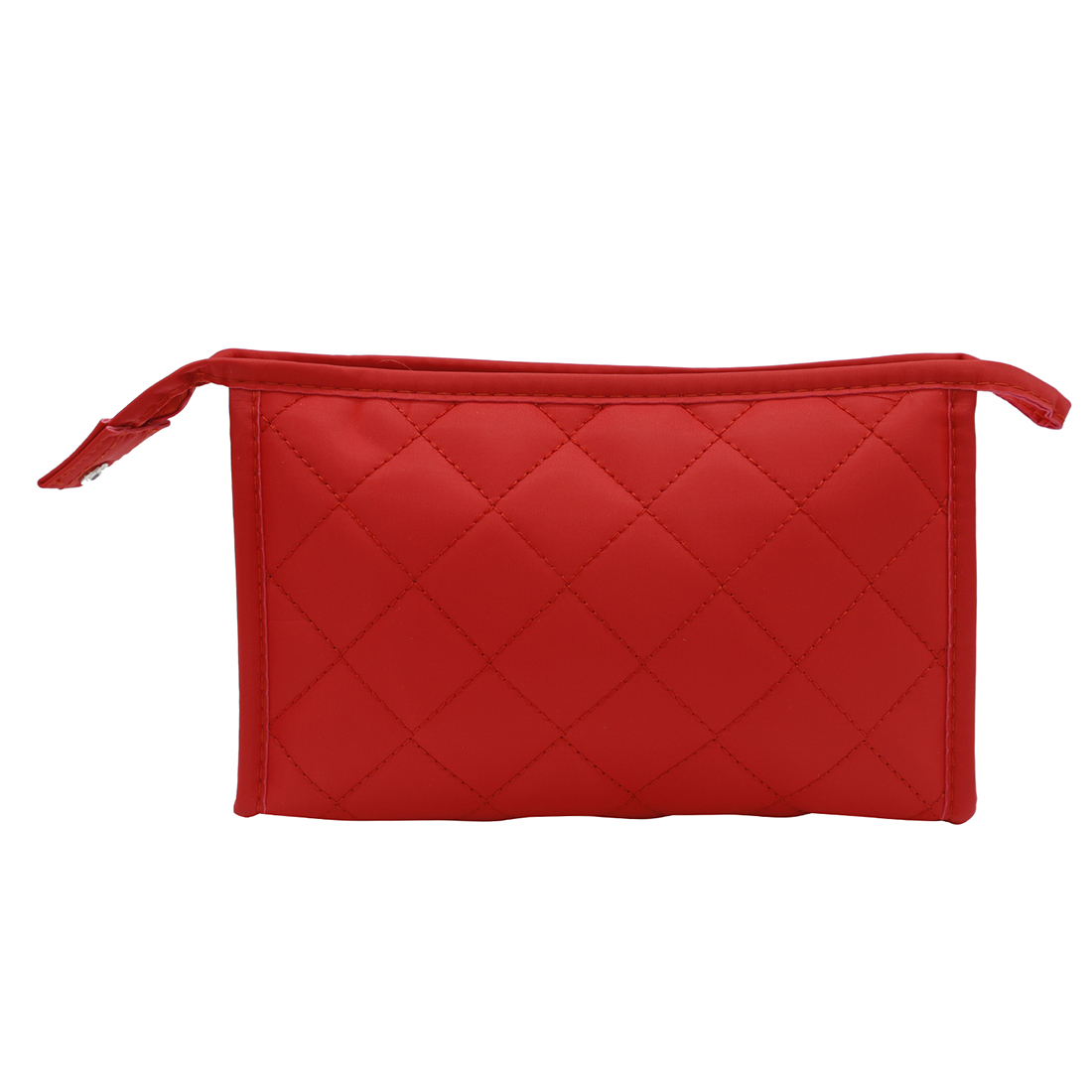 NFI essentials Solid Color Cushioned Cosmetics Pouch Vanity Jewellery Pouch Stationery Pencil Case Travel Pouch