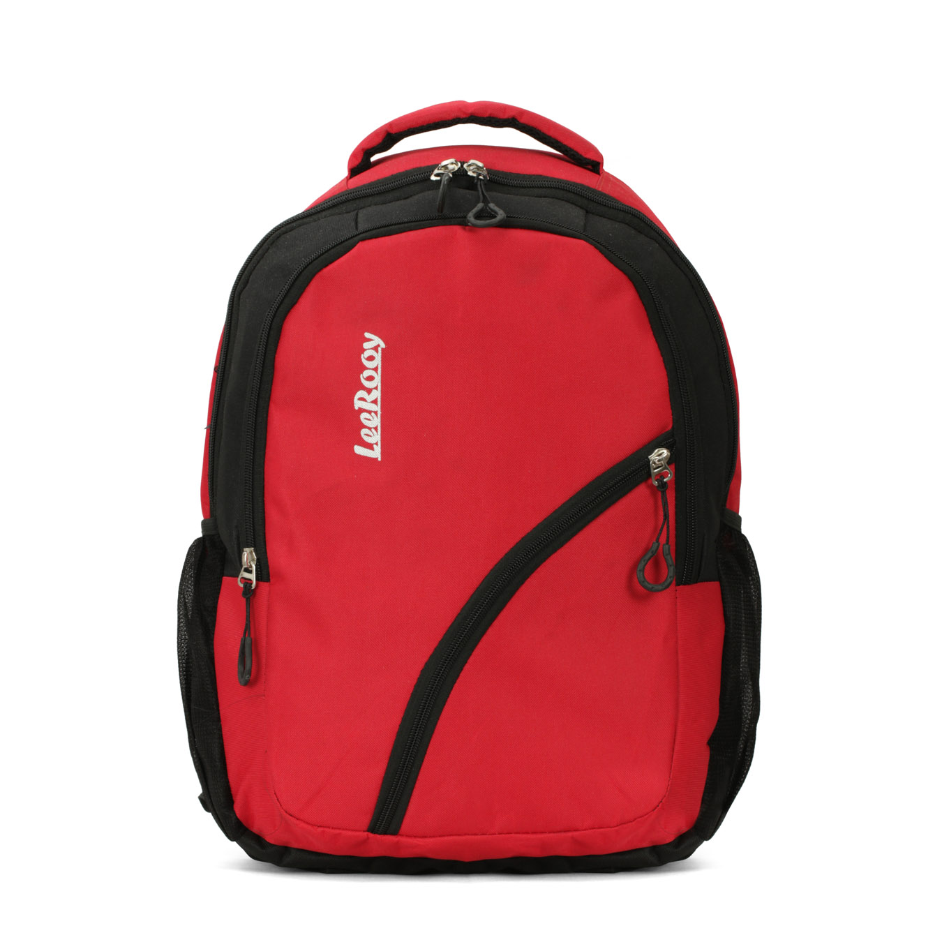 LeeRooy 25 L Nylon Red 3 Compartment Laptop Bag for Women and Men Backpacks for Girls Boys Stylish Trending Bagpack