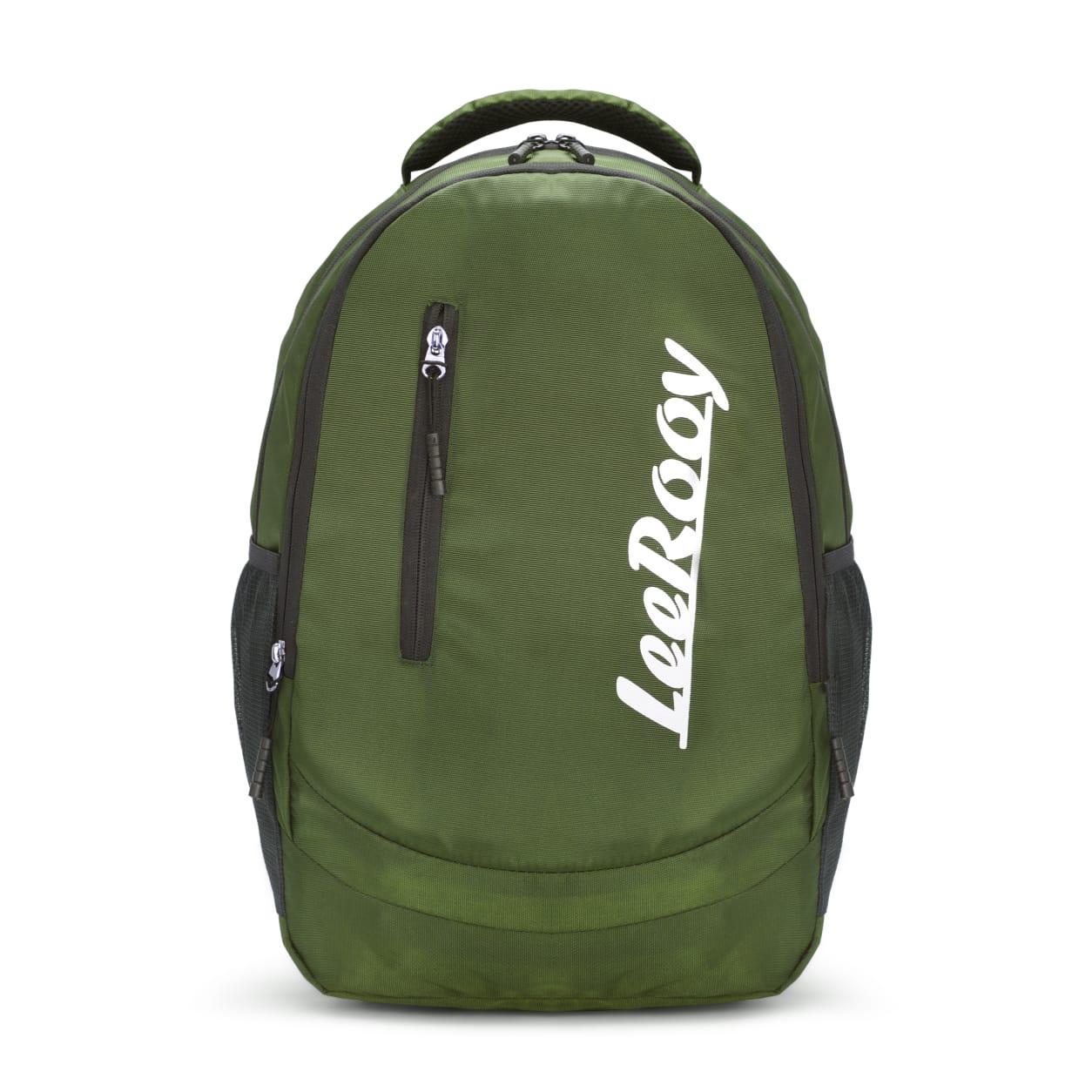 LeeRooy 20 LGreen Laptop Bag for Women and Men Backpacks for Girls Boys Stylish Trending Bagpack School Bag