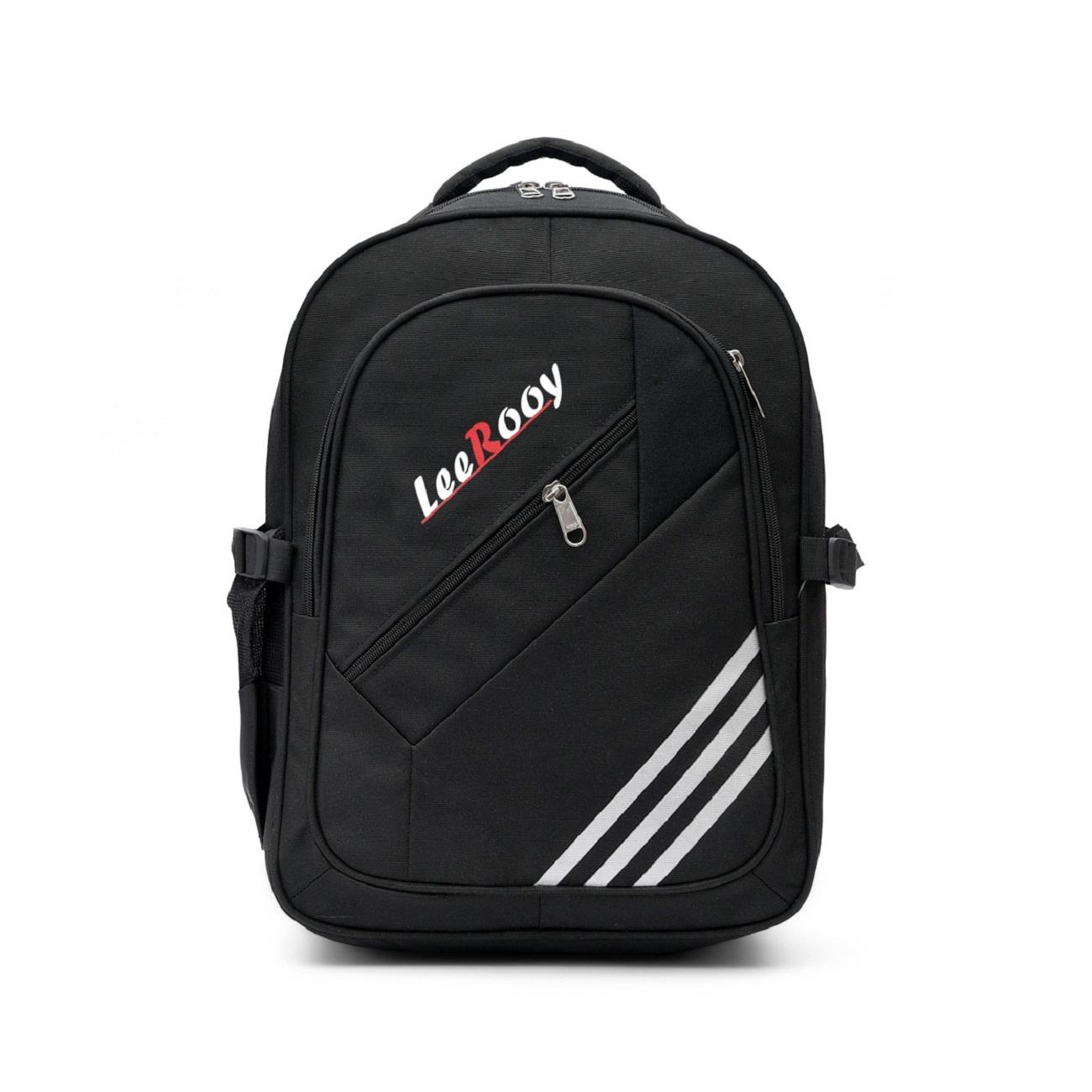 LeeRooy 25 L Black Laptop Bag for Women and Men Backpacks for Girls Boys Stylish Trending Bagpack School Bag