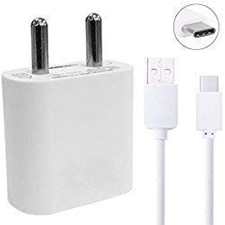 Calicovilla Universal 2 Amp Mobile Fast Charger With 1 Meter Micro Usb Cable Compatible For All Redmi Y2 White