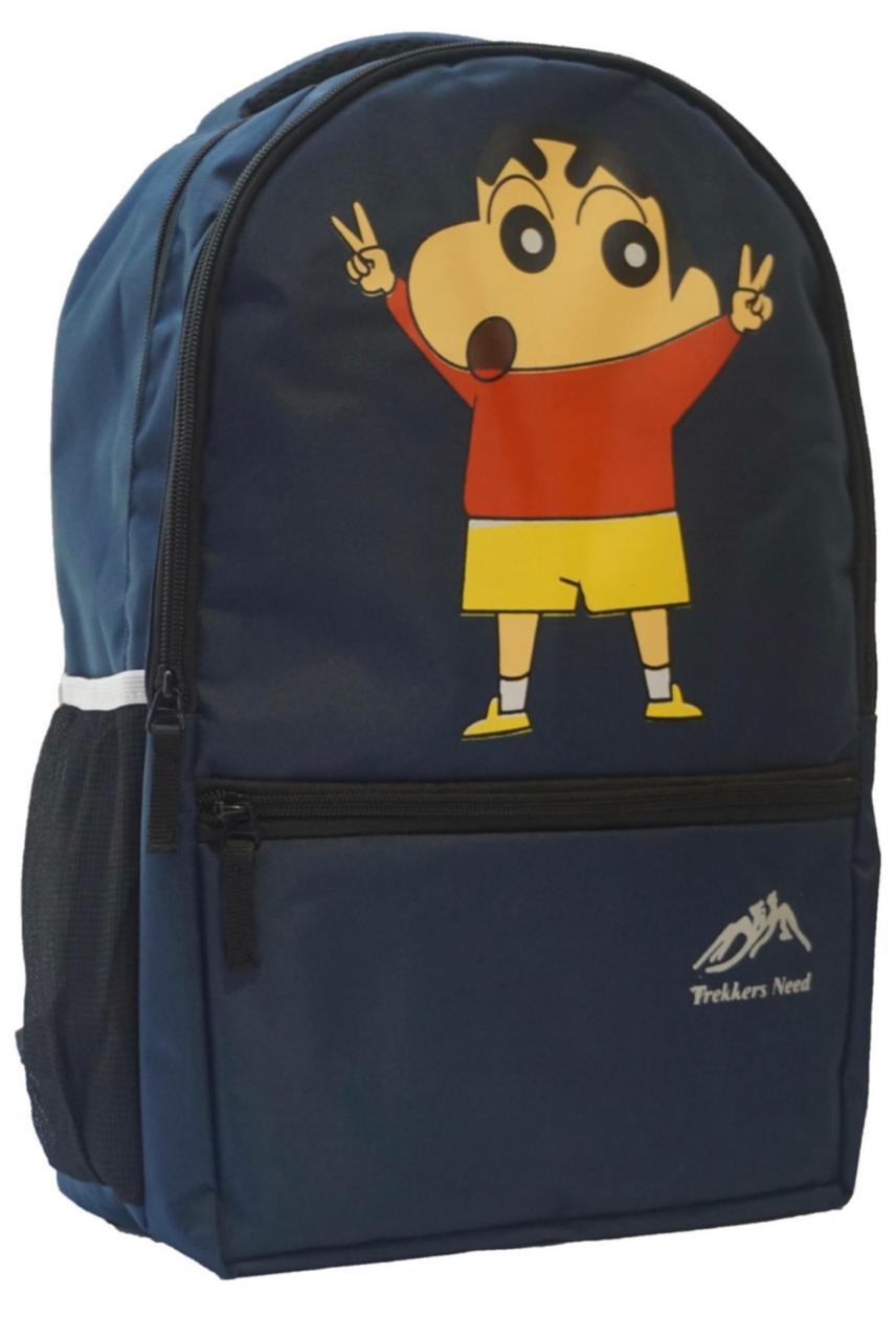 Proera Blue 15 L Shinchan Kids Backpack/School Bag  Unisex