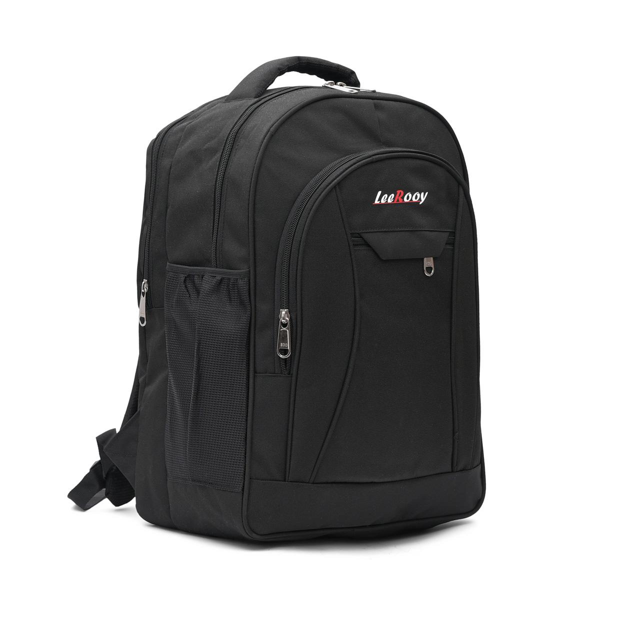 Leerooy Bag03Black Ni14606 Waterproof Multipurpose Bag  Black, Black, 39 L  School/Colleg Bag Laptop Bag