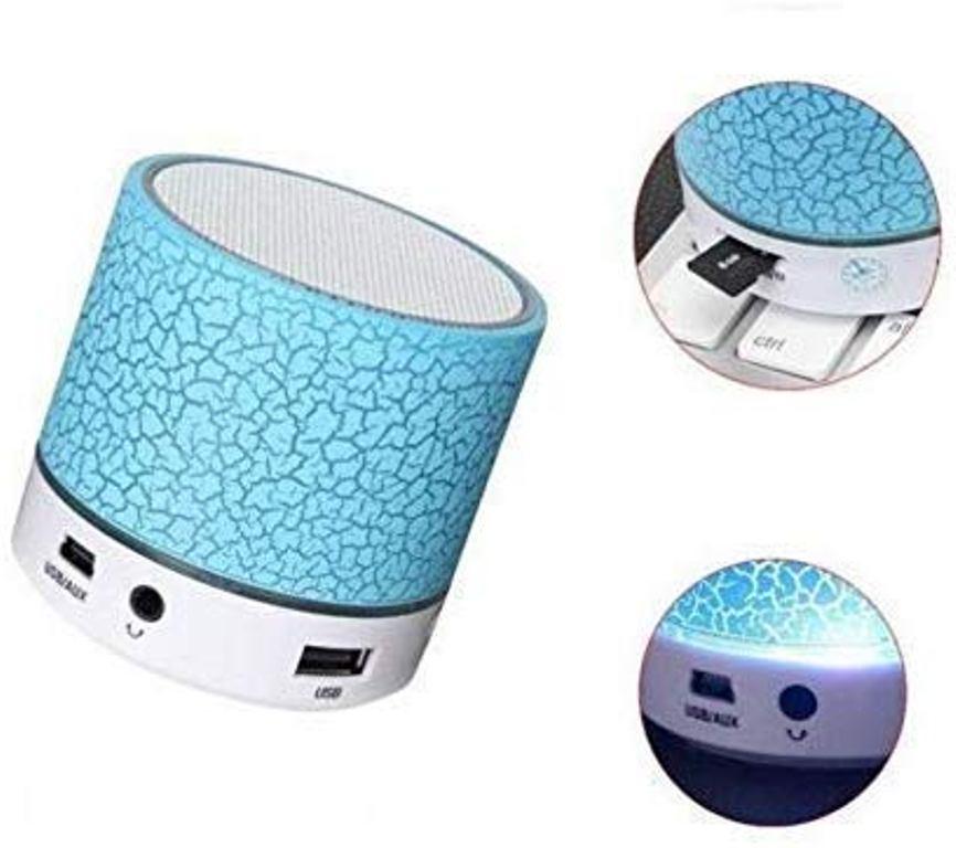 Esportic Mini Portable Wireless Speaker S10 Portable Travel Speaker Handfree Mic Stereo Portable Speakers Multicolor