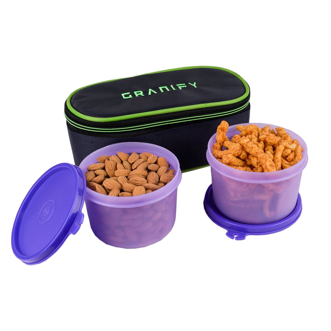 GRANIFY Lunch Box   2 Containers With Bag Cover   D