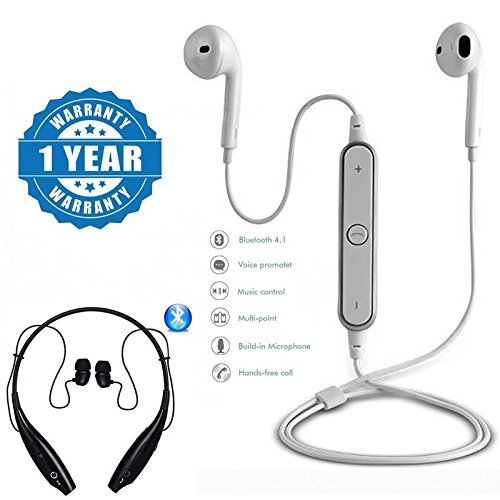 SHOPKING S6 Bluetooth Wireless Sport Music Headset With HBS 730 Wireless Sports Bluetooth Headset with Mic