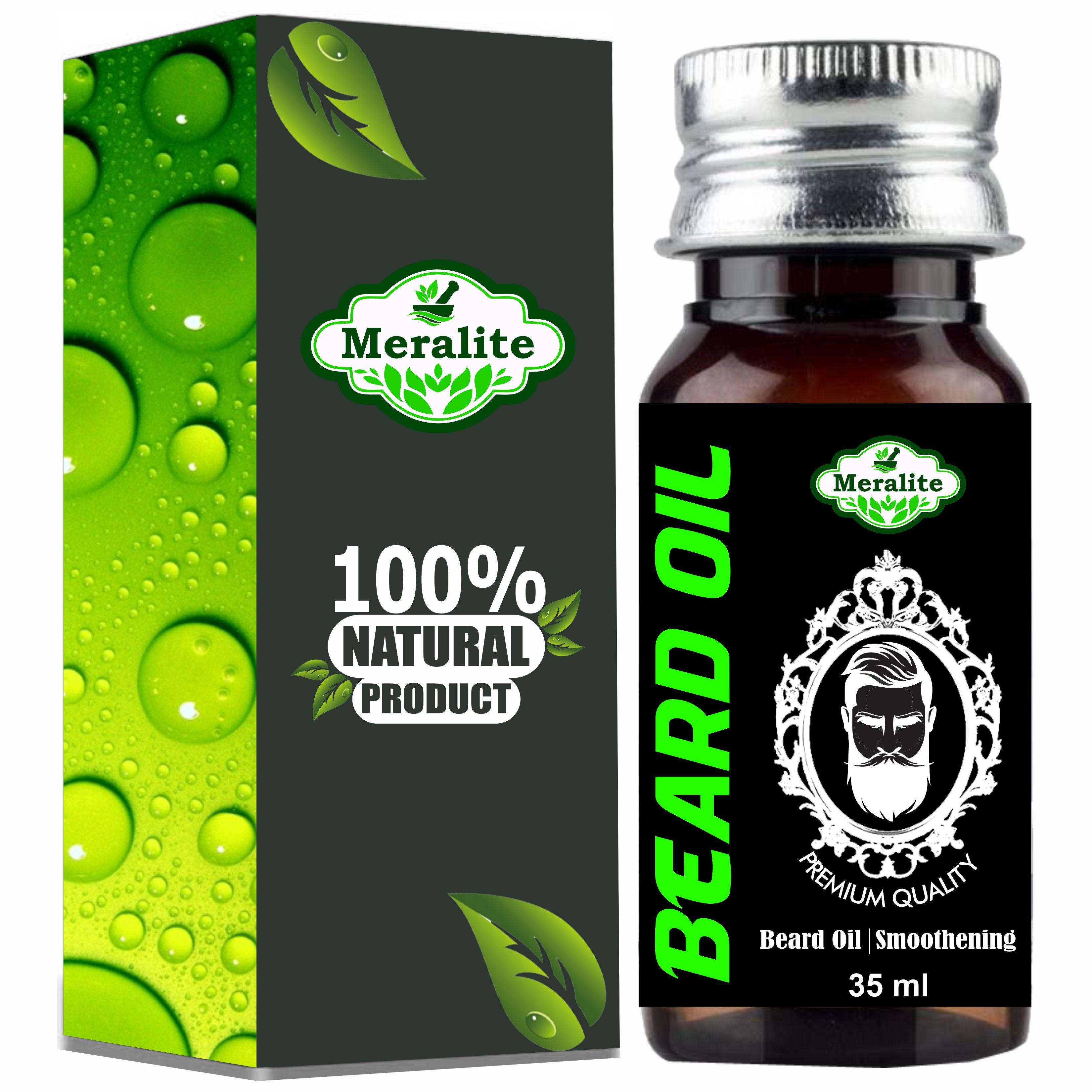Meralite Professionals Choice Beard Growth Oil Hair Oil  35 ml   ML ROZY BEARD 35ML