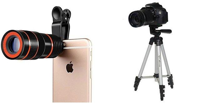 8X Mobile Lens and 3110 Camera Tripod 8x Lens Mobile LensUniversal Mobile Lens Telescope LensZoom LensSo Bes