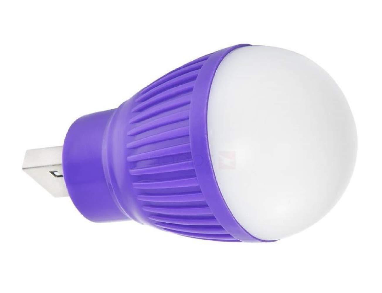 Ape World Mini Portable LED USB Light Lamp/LED USB Bulb Mini LED Night Light   Multicolor