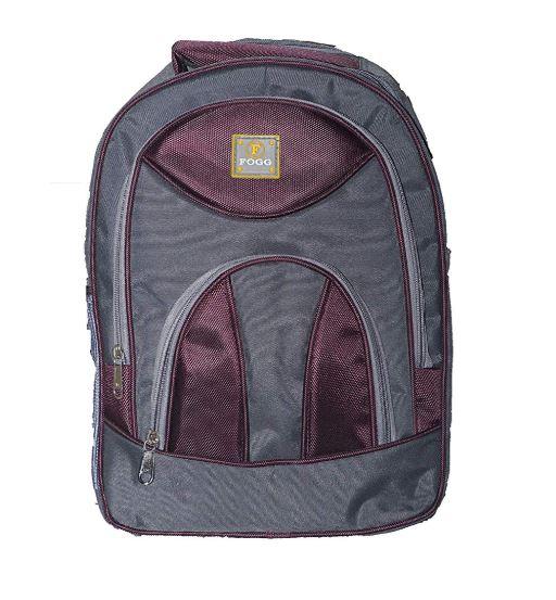 Proera Purple Polyester 25 Ltrs College Backpack Office Bags Shoulder Backpack For Men   Women