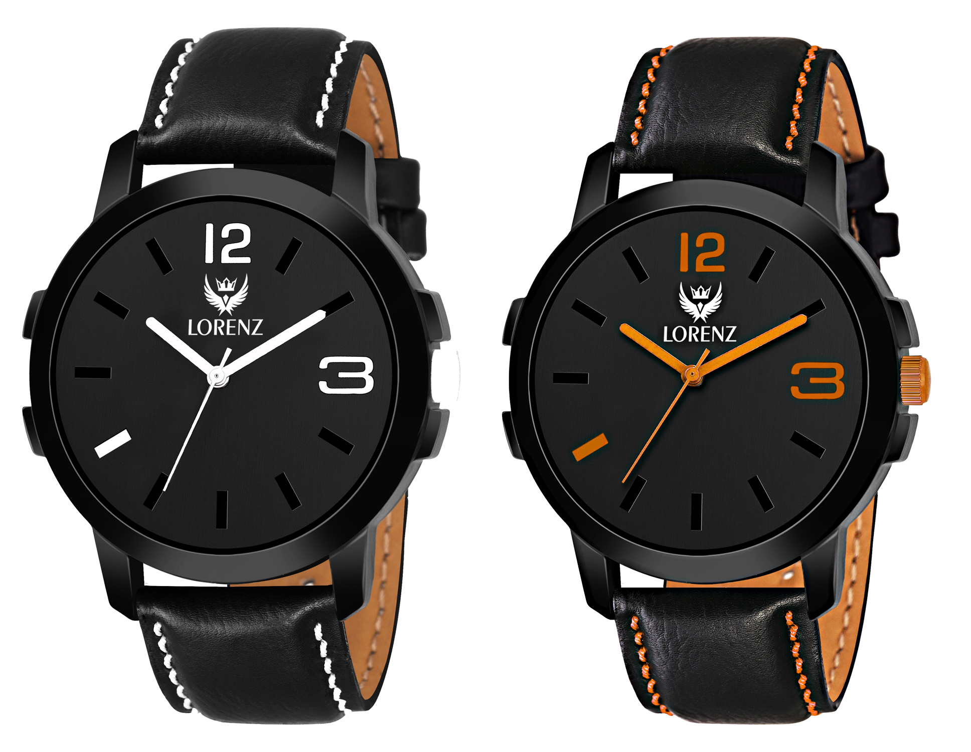Lorenz 2 Analog Watches Combo for Men   Watch for Boys   60W14K